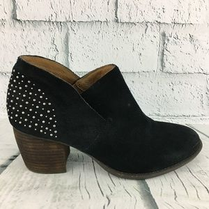 Naya Valerie Black Studded Ankle Bootie Size 9M